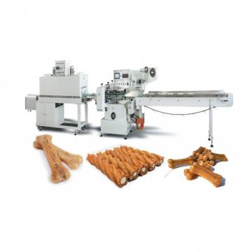 Dry Dog Food Pet Snack Dog Treats Chews Gum Processing Production Machine Line