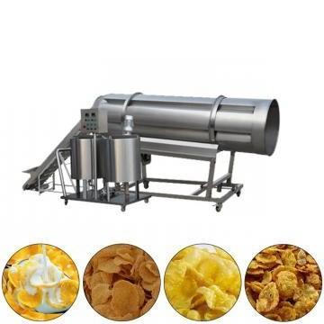 Beans Rice Corn Flakes China Snack Food Extruder Machine