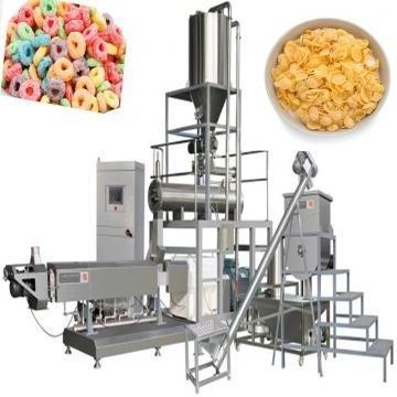 Efficient Twin Screw Corn Flakes Breakfast Cereal Making Machine