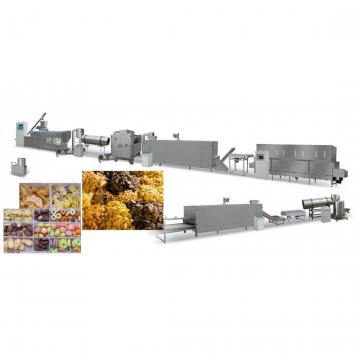 500kg/H Corn Flakes Food Process Machines Breakfast Cereals Snacks Machines