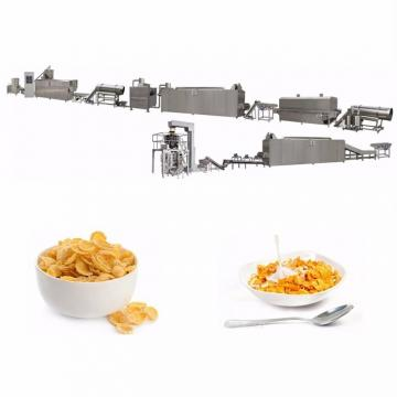 Fully Automatic Industrial Puffed Corn Flakes Cereal Machine