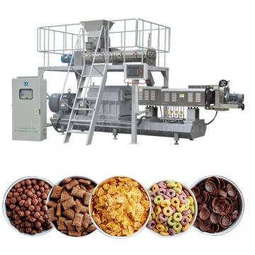 Inflating Rice Corn Flake Breakfast Cereal Making Machine