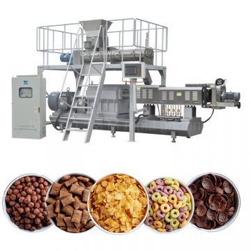 Puff Snacks Cereals Corn Flakes Flaking Machine