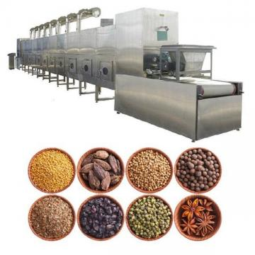 Industrial Continuous Fruit Nut Grain Leaves Mineral Microwave Drying Roasting Sterilization Curing Oven Machine