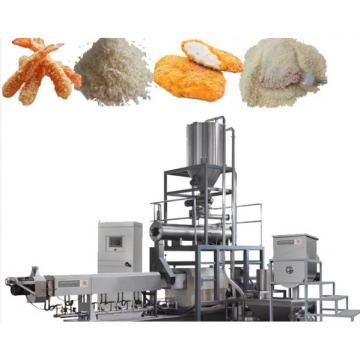 Textured Vegetarian Soybean Protein Soya Nuggets Food Making Machine