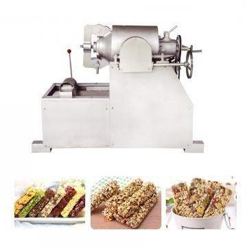 Industrial Automatic Peanut Chikki Candy Maker Cereal Bar Making Machine