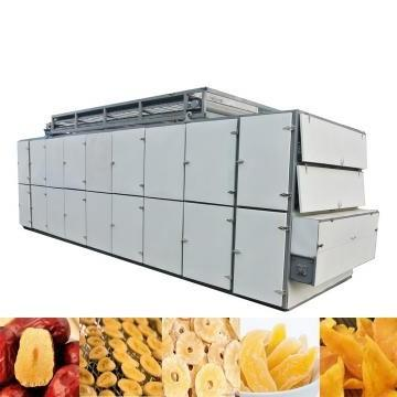 Industrial Chemical Stuff PP PE PVC Fiber Rubber Hot Air Dryer Mesh Belt Drying Machine