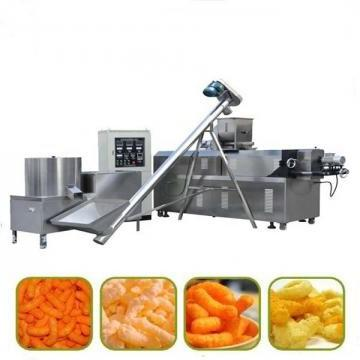 Instant Crispy Breakfast Cereal Corn Flakes Extruder Machine