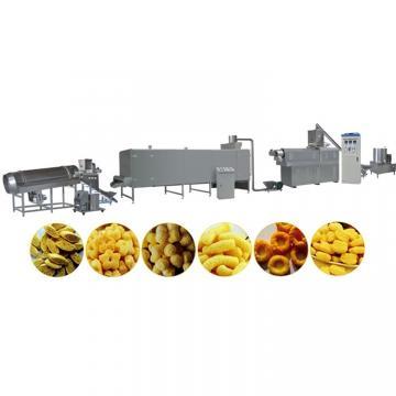 Small Corn Screw Puff Extruder/Puffed Wheat Flour Food Making Machine/Rice Popper Soybean Powder Extruding Machine