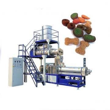 Dry Wet Pet Food Pellet Processing Making Extruder Machine Dog Food Machine