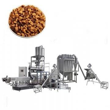 Dry Dog Food Making Extrusion Production Machinery Puffed Extruded Pet Pellet Extruder Line