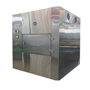 10 Kw Industrial Vacuum Fruits Vegetable Flower Drying and Sterilizing Machine Microwave Dryer