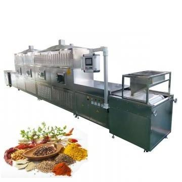 Large Industrial Continuous Microwave Vegetable Drying Equipment