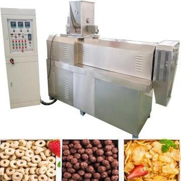 Automatic Feeding and Packing Line for Chocolate Cereal Bars Production