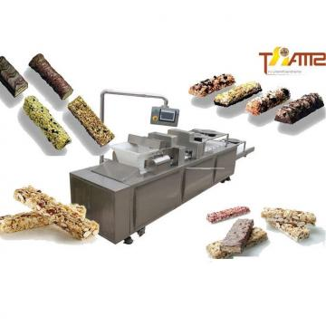 Cereal Bar Making Machine Simple to Handle Chocolate Bar Production Line