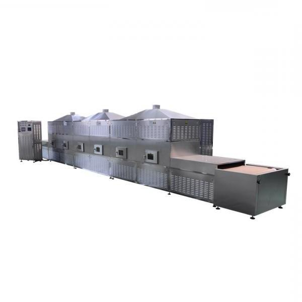 10 Kw Industrial Vacuum Fruits Vegetable Flower Drying and Sterilizing Machine Microwave Dryer #1 image